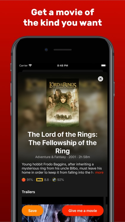 Random Movies for Netflix