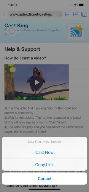 Cast King - Googlecast for TV on the App Store