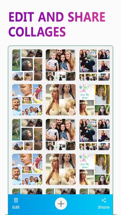 Photo Collage Maker - Mix Pics screenshot-4