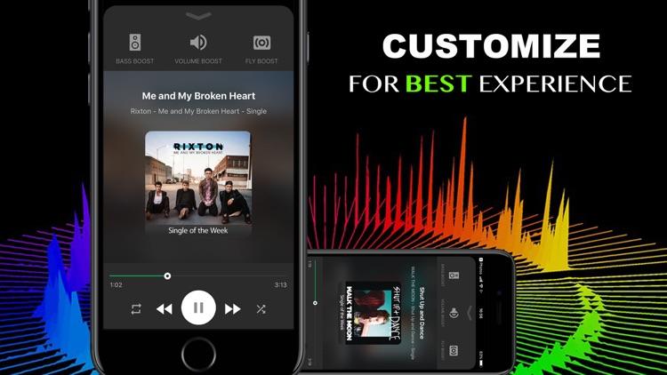 Bass & Volume Booster Boom EQ screenshot-3