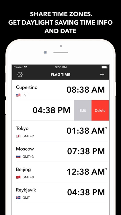 Flag Time Pro - Time Zone screenshot-3