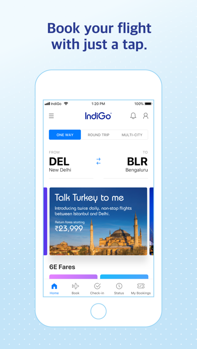 IndiGo | Flight Booking App screenshot one