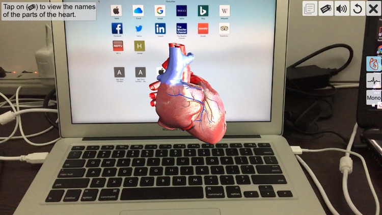 AR Human heart – A glimpse screenshot-1