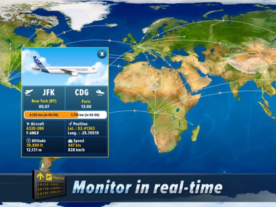 Airlines Manager : Tycoon 2019 для iPad