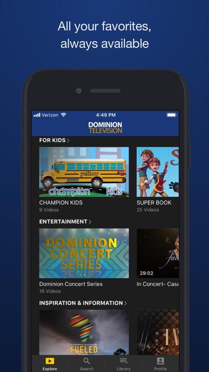 Dominion TV On Demand