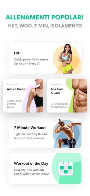 Esercizi Fitness da GetFit su App Store