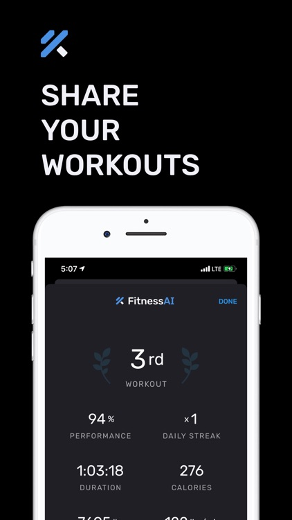 Home Workouts by FitnessAI screenshot-3