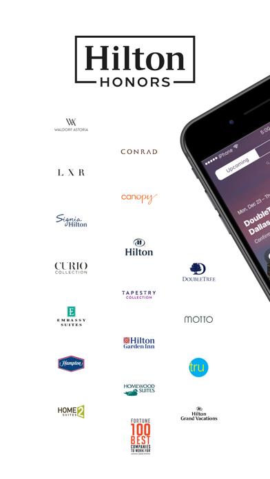Hilton Honors: Book Hotels Screenshot on iOS