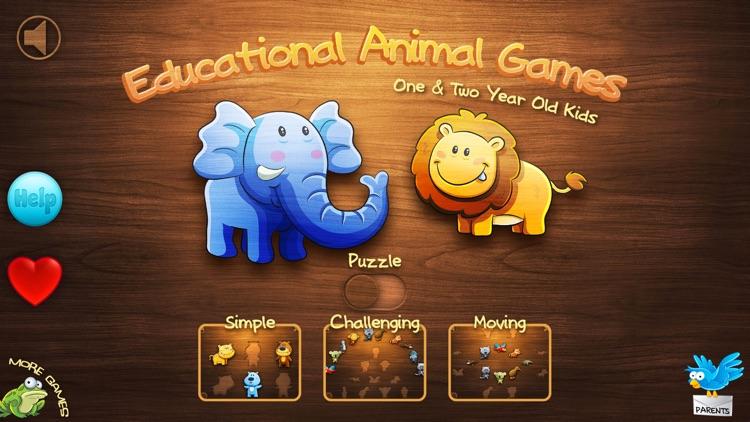 Educational Animal Games screenshot-4