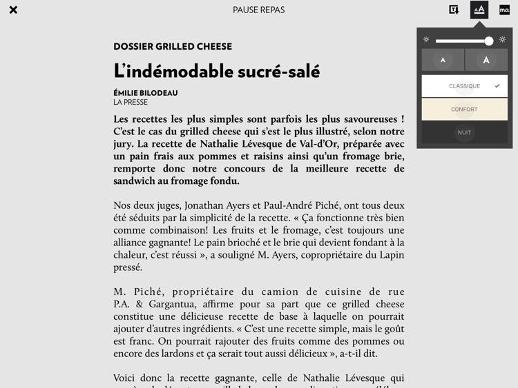 La Presse+ screenshot-3