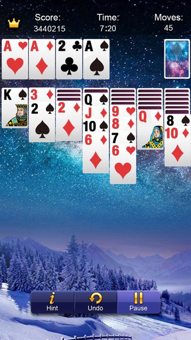 Solitaire Daily™ Screenshot on iOS
