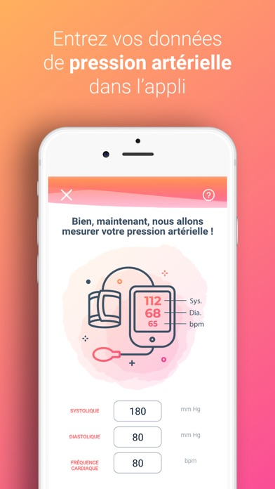 Screenshot for My BP control in France App Store