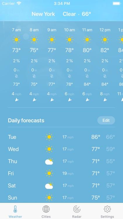 Weather · screenshot-3