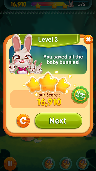 Bunny Pop! screenshot1