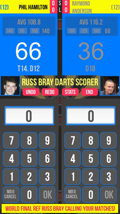 Russ Bray Darts Scorer screenshot-0