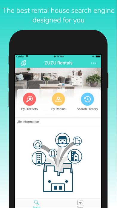ZUZU Rentals screenshot one