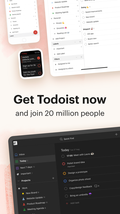 Todoist: To-Do List & Tasks Screenshot