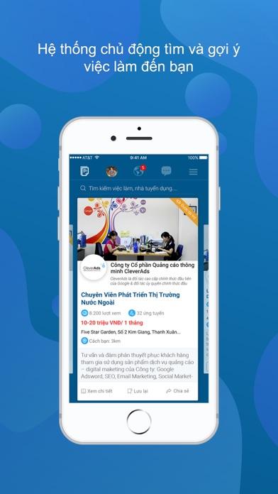 Screenshot #1 pour JobsGO: Việc Làm Tìm Đến Bạn
