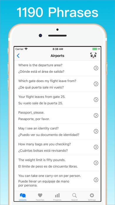 Learn Spanish + © Screenshot