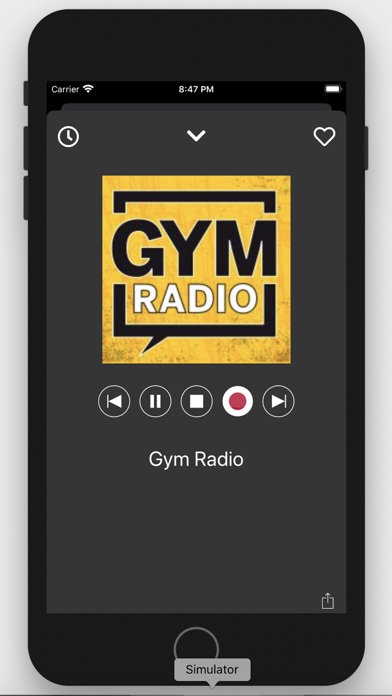 Gym Radio - Workout Music App screenshot one
