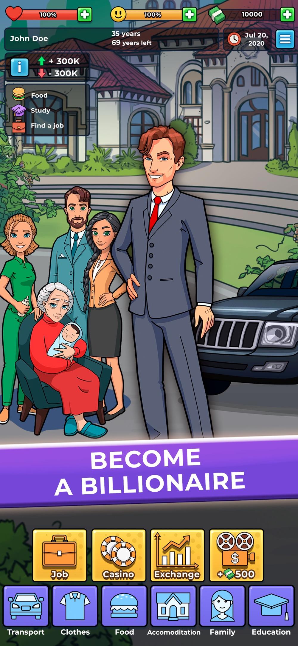 Hobo Life – business simulator Cheat Codes