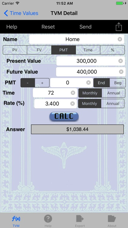 TVM: Time Value of Money