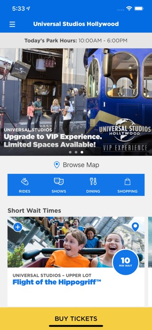 Universal Studios Hollywood™ on the App Store