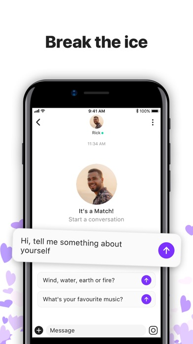 Hily Dating: Chat, Meet, Love Screenshot