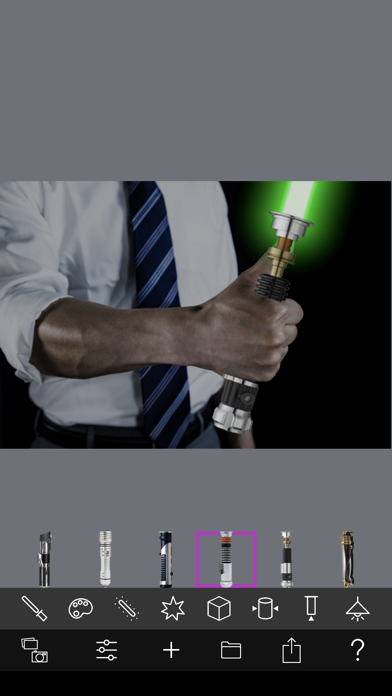 Lightsaber Camera Deluxe screenshot 3