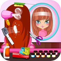 Girls Hair Salon Beauty Games