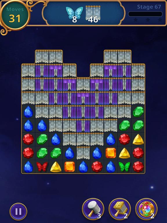 Jewels Magic: Mystery Match3 screenshot 13