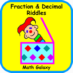Math Galaxy Fraction and Decimal