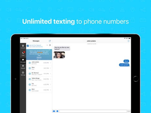Talkatone: WiFi Text & Calls on the App Store