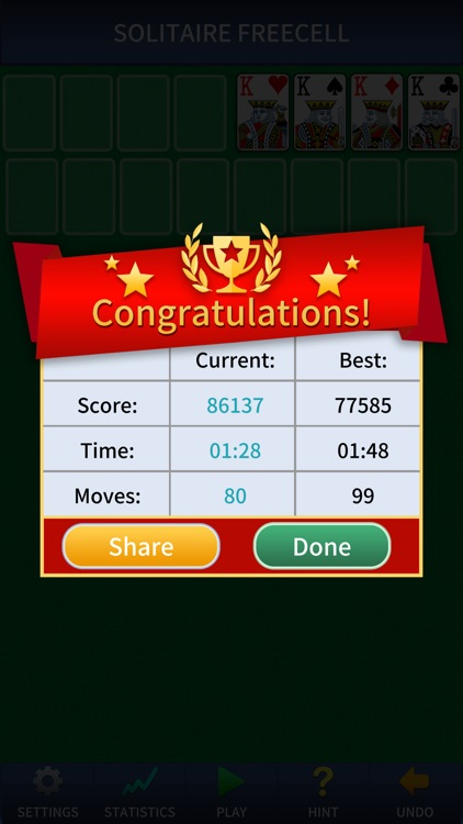 Freecell Solitaire Pro. screenshot-1