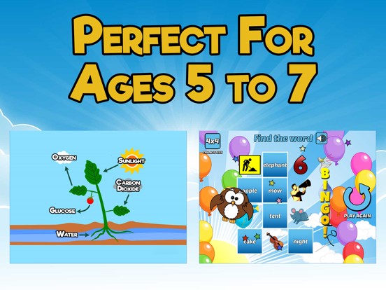 First Grade Learning Games screenshot