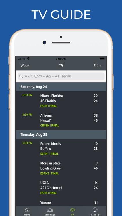 UNLV Football Schedules screenshot-6