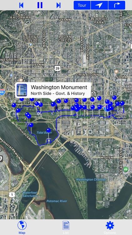 Washington DC Mall Tour