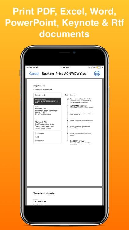 iPrint Printer for AirPrint screenshot-5