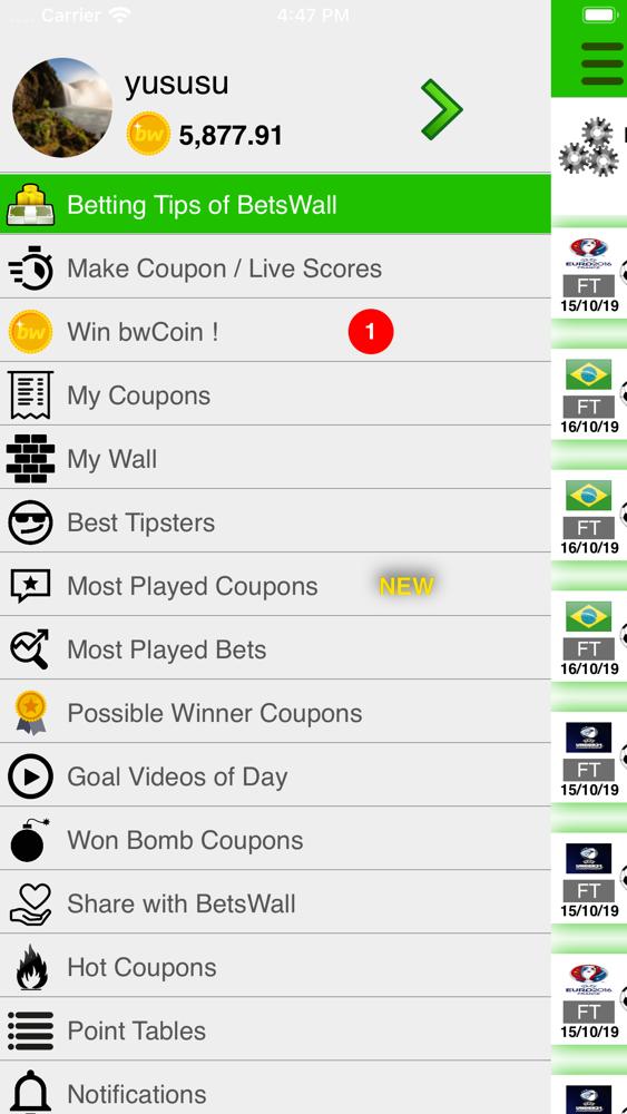 Betting tips app iphone chrischona bettingen restaurant