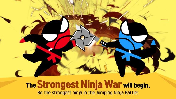 Jumping Ninja Battle - 2Player