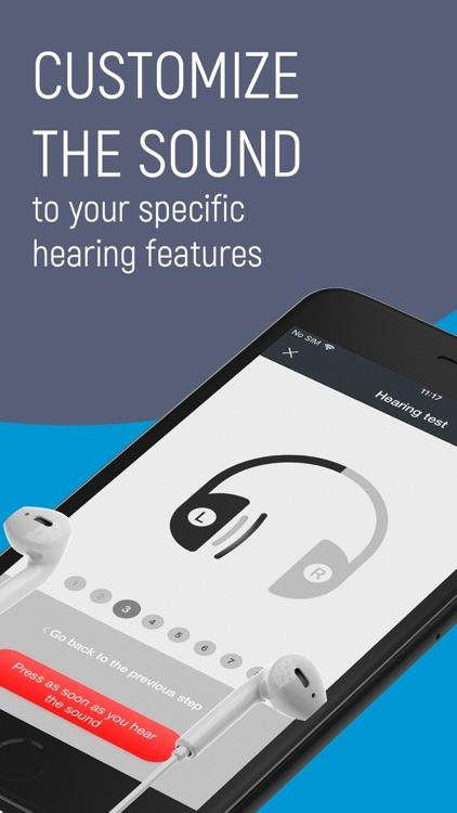 Listening device, Hearing aids screenshot-3