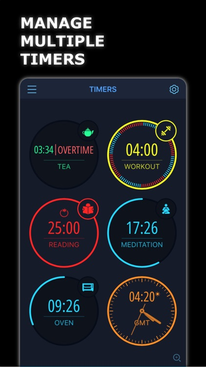 MultiTimer: Multiple timers screenshot-0