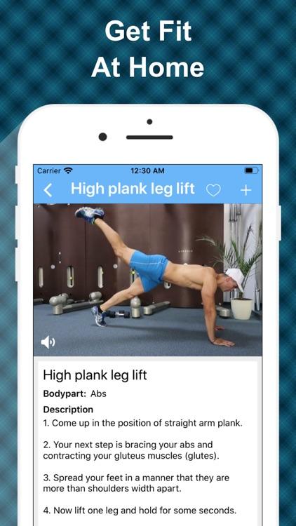 At Home Workout: No Equipments screenshot-6
