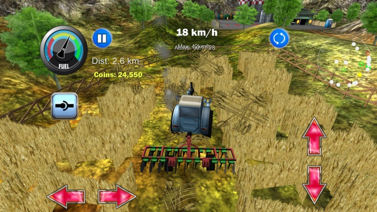 Tractor Farm Driver 3D Farming screenshot-0