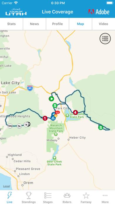 Tour Of Utah 2019 2019 Tour of Utah Tour Tracker | App Price Drops