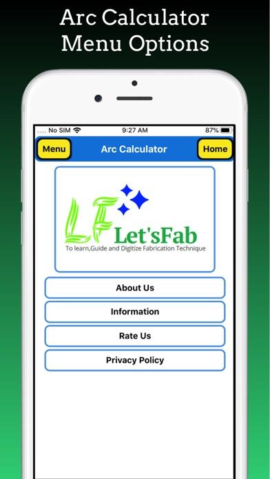 Arc Calculator Pro screenshot 8