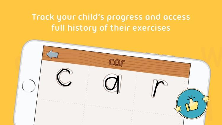 iTrace — handwriting for kids screenshot-6