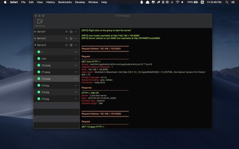 Http Server review screenshots