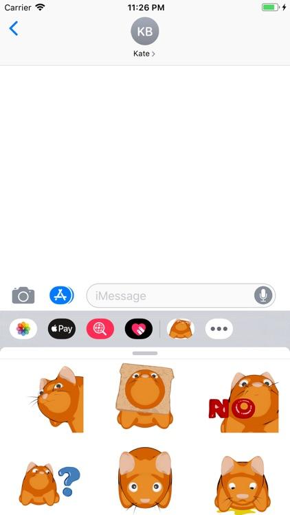 Scaredy Cat - Stickerpack screenshot-3