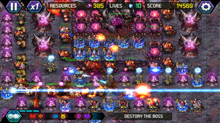 Tower Defense: Infinite War screenshot-3